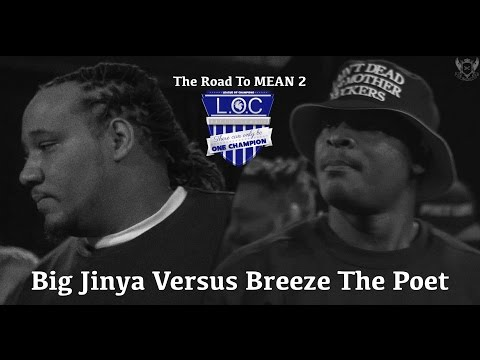 Big Jinya vs Breeze The Poet - The Road To MEAN 2 - LOC
