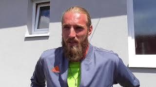 David Mrázek po porážce ve finále kvalifikace Rieter Open Ústí nad Orlicí 2018