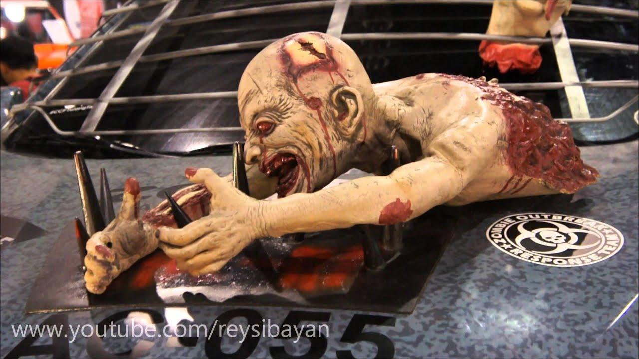 Zombie Apocalypse Suv Manila Auto Salon Philippines Youtube