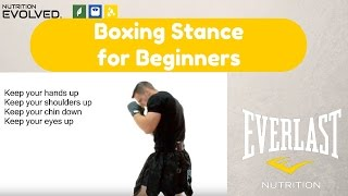 Boxing Stance (A step by step guide for Beginners)
