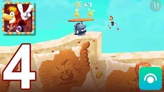 Rayman Fiesta Run - Gameplay Walkthrough Part 4 - Levels 20-25 (iOS, Android)