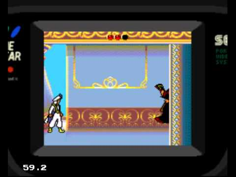 Aladdin - Game Gear - Palais et boss de fin (2/2)