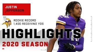 Justin Jefferson Full Rookie Season Highlights