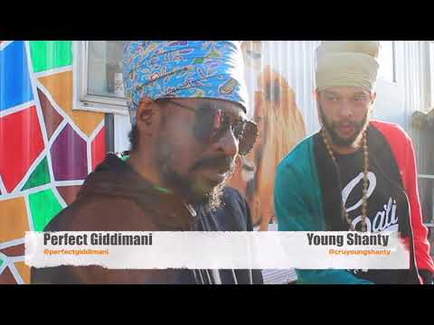 Perfect Giddimani and Young Shanty at Rally Up Studios