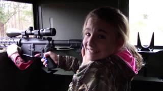 Shoot like a Girl - A Girl