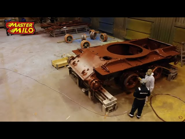 Painting the tank!