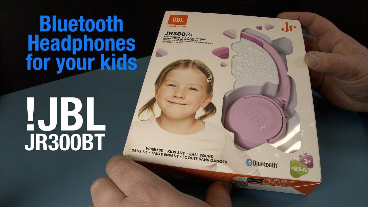 Jbl Jr300 Bt Bluetooth Headphones For Children Youtube