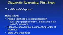 Diagnostic Reasoning I