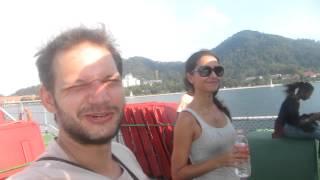 The boat to Pangkor island