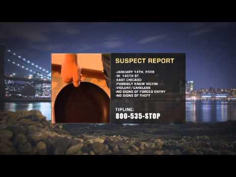 """Crime Stoppers Case Files: Chicago"" Season 1, Episode 5:Daniel Aviles 27 October 2012"
