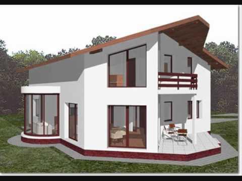 Proiect casa alexandra modele case cu mansarda youtube for Youtube case cu mansarda