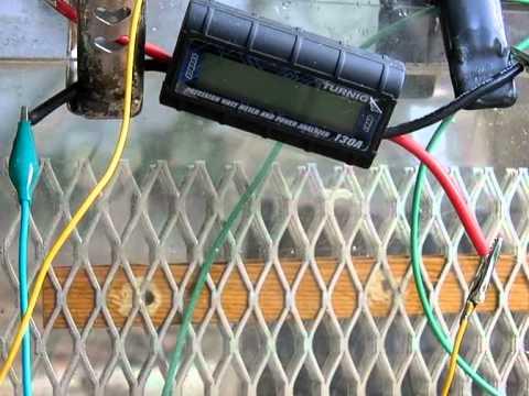 DIY Hack Hydrogen Bike Generator HHO human power 255 watts