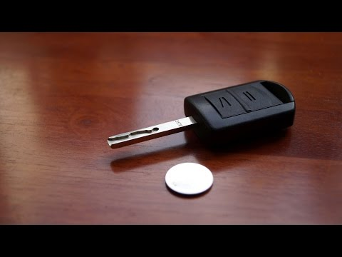 Opel Remote Key - Battery Replacement