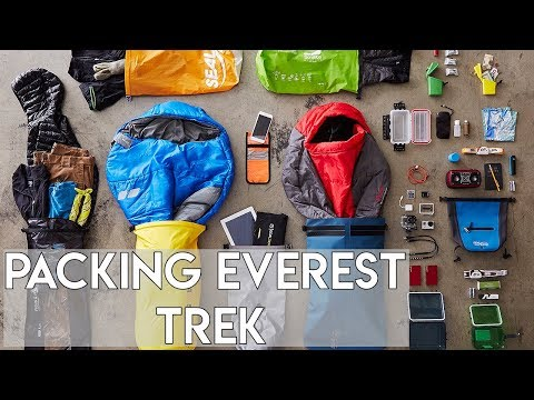 Everest Base Camp Trek Gear  - What You Need To Pack