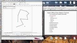Open Office Draw Basics Tutorial