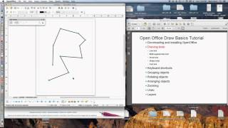 Open Office Draw Basics Tutorial