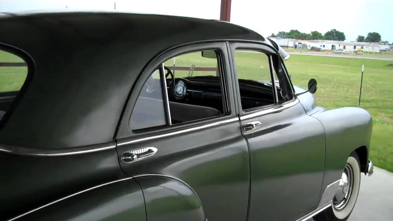 1950 chevrolet styleline deluxe youtube for 1950 chevy styleline deluxe 4 door sedan