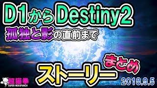 Destiny2 | D1 ~ 孤独と影 直前迄 ストーリー解説 [超猫拳][D1][D2S3]