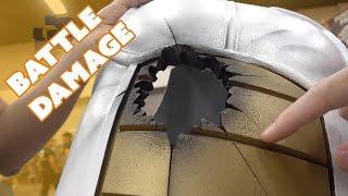 How To - Saiyan Armor Battle Damage by Boba Joe