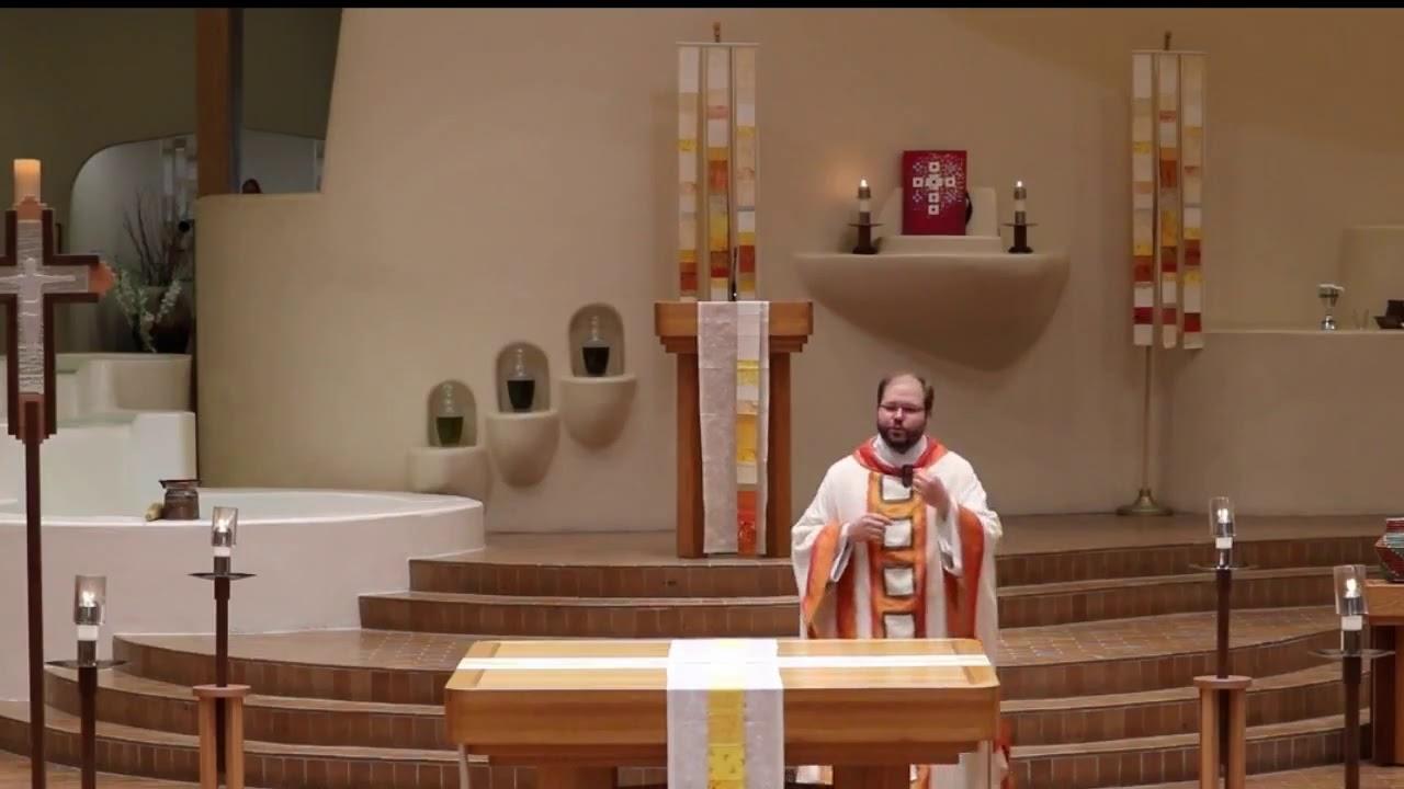 """What is your story?"" - Fr. Graham Golden, O. Praem."