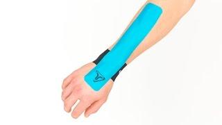 Videoanleitung zum Tapen bei allgemeinen Schmerzen im Handgelenk
