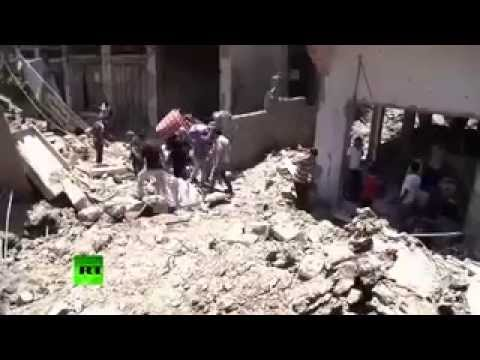 Gaza town in ruins after devastating Israeli attack