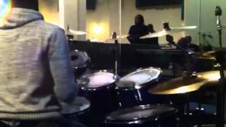 Israel Houghton - friend of god (drum over in church)