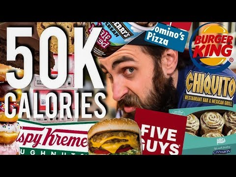 The 50,000 Calorie Challenge | BeardMeatsFood