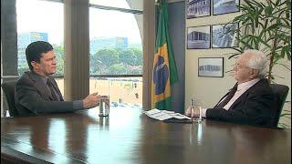 Boris Casoy entrevista Sergio Moro (11/10/19) | Completo