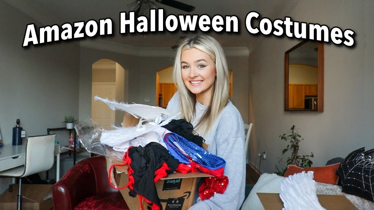 Amazon Halloween Costumes Try on Haul!!