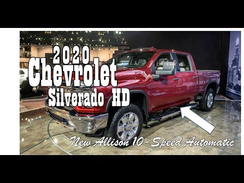 AMAZING..!!  2020 Chevrolet Silverado HD Release date : with a new Allison 10-speed automatic