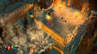 Lara Croft and the Temple of Osiris - Chase scene gameplay