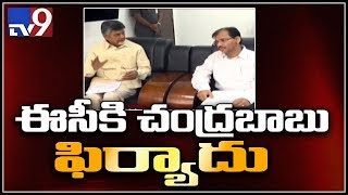 Chandrababu writes 8 pages letter to EC - TV9