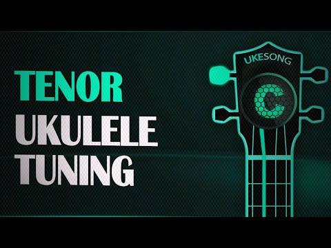 Online Ukulele Tuner - Tenor ukulele tuning