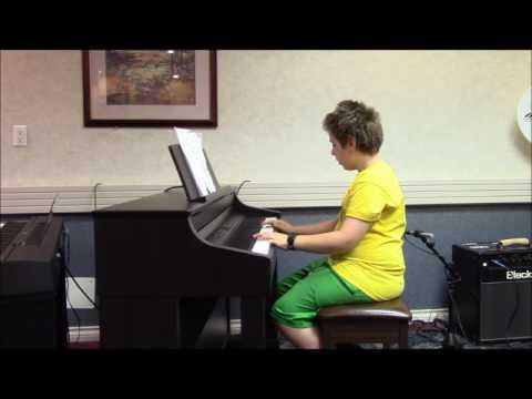 Adrian playing  Liechtensteiner Polka