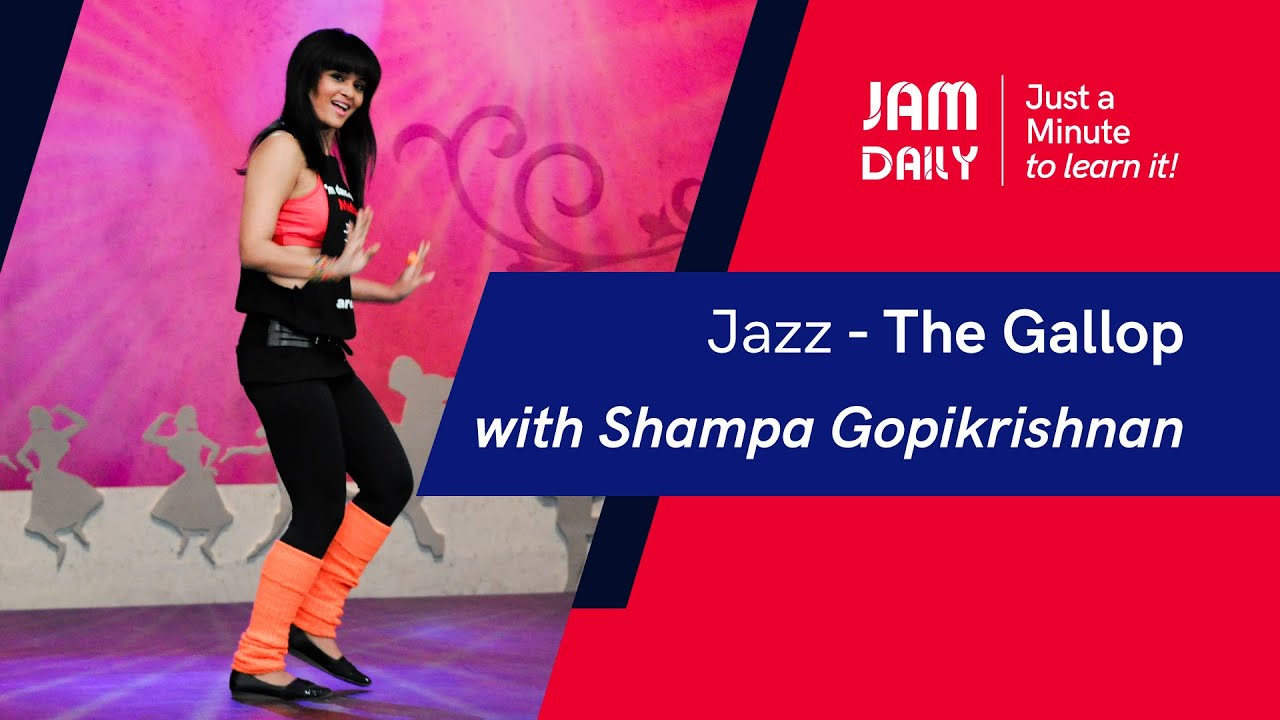 JAM Daily #52 | Just A Minute To Learn 'Jazz- The Gallop' | Dance With Madhuri