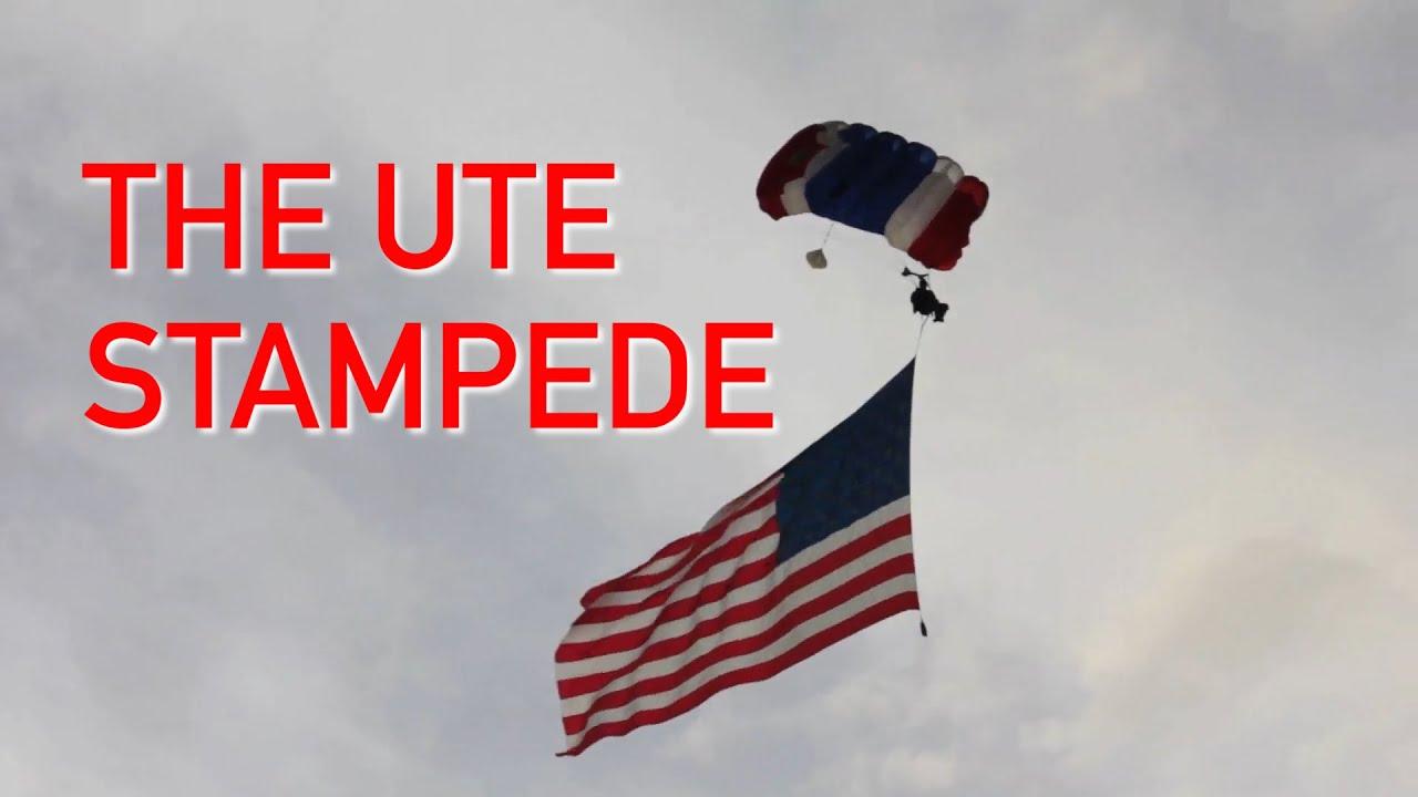 The Ute Stampede In Nephi Utah Youtube