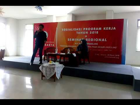 IKATWI DKI Jakarta : All About Drolling (18-3-2018). Pembicara : Lukman Hakim dan Sri Darmayanti.