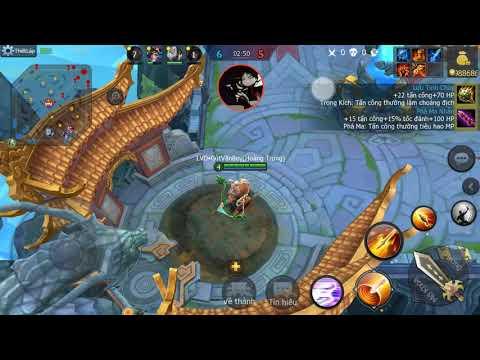 Hack 3Q 360mobi - Hoàng Trung ngũ sát map 5vs5 full vàng + one hit