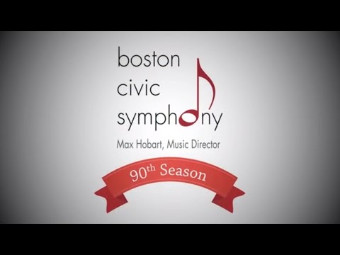 Celebrating 90th Season of the Boston Civic Symphony