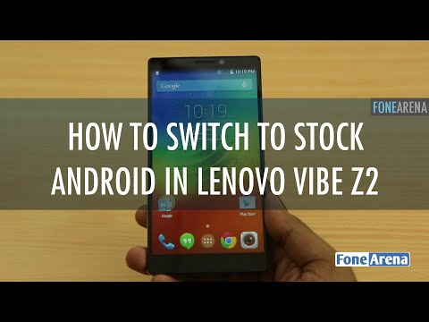 Lenovo Vibe Z2 Pro Stock Android UI - How to dual boot?