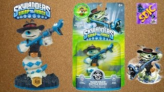 UNBOXING Skylanders SWAP FORCE Undead Element Quick Draw Rattle Shake exclusive figure toys review