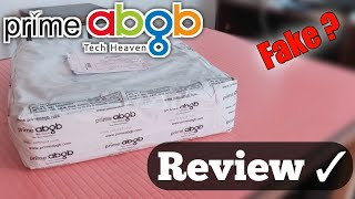 Prime ABGB Review PC parts seller website Real VS fake