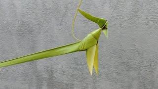 Hướng dẫn làm con chim bằng lá dừa 3 (đơn giản)