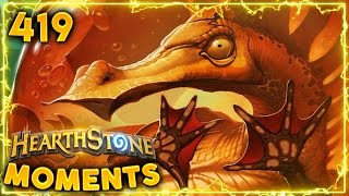 Free From Amber is Awesome..!! | Hearthstone Daily Moments Ep. 419