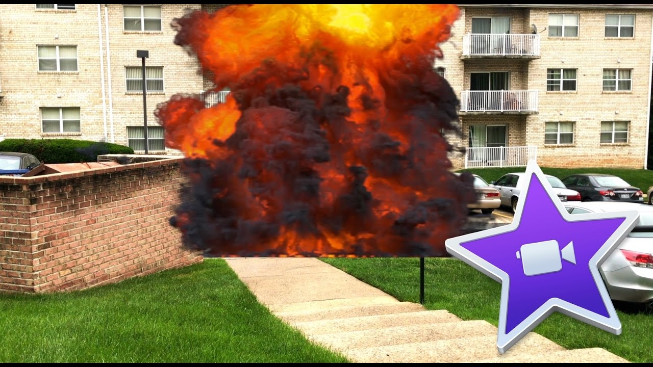 Simple iMovie Effects Tutorial - Handgun Muzzle Flare and Car Explosion