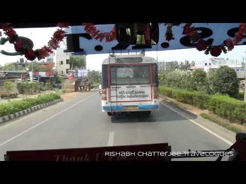 APSRTC PUSHPAK AIRLINER Tata Marcopolo A/C Bus/Rajiv Gandhi Intl Airport to Masab Tank,Hyderabad
