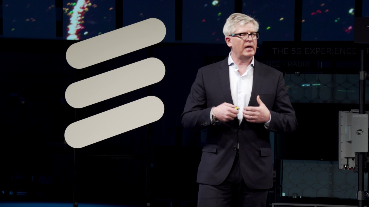 MWC 2017: Ericsson Keynote Presentation on 5G and how it collaborates with  many industries