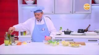 محشي خس روماني - سلطة قرنبيط بالبصل الأخضر - تفاح مشوي بالقشطة والعسل | طبخة ونص الحلقة كاملة