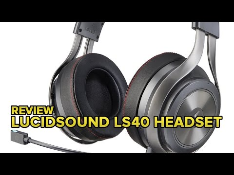 LucidSound's LS40 gaming headset looks and sounds great in every situation